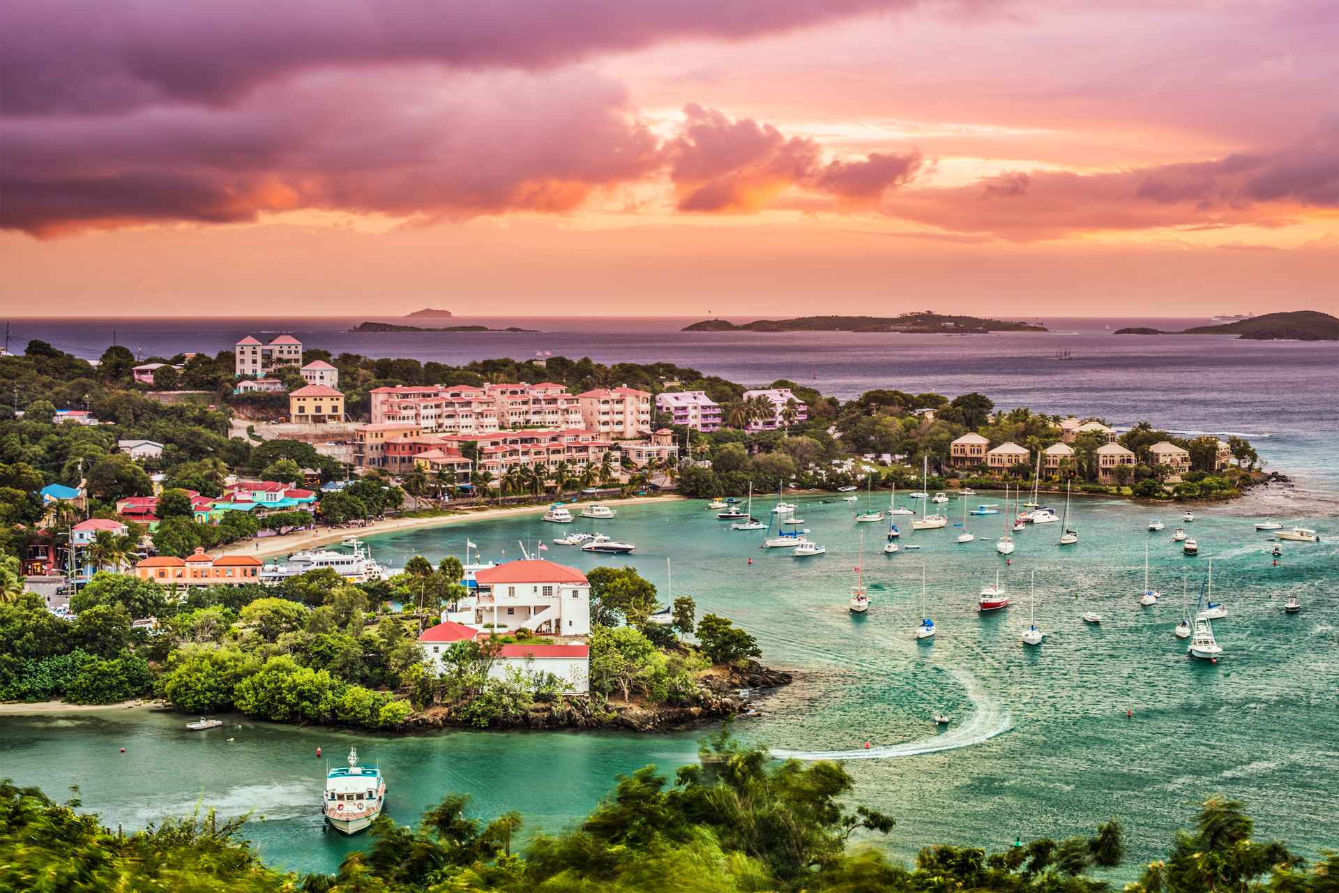Private Jet Charter to US Virgin Islands