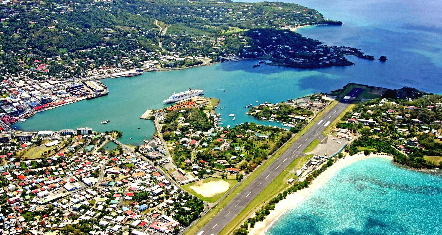 St Lucia Castries Airport