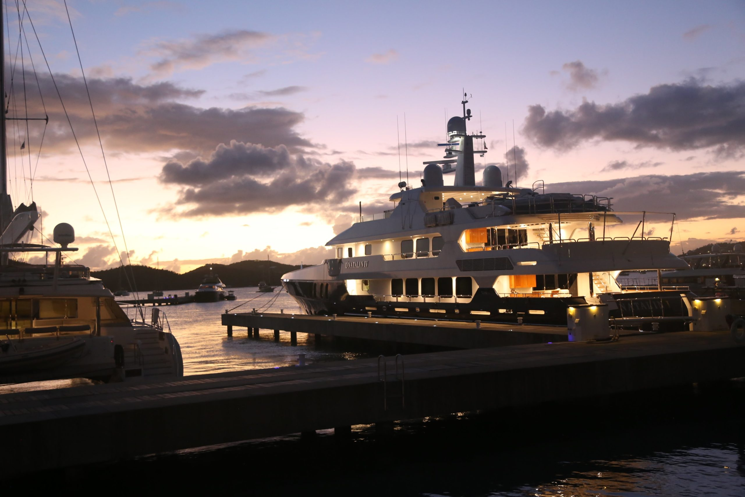 Virgin Islands Luxury Yacht Charter