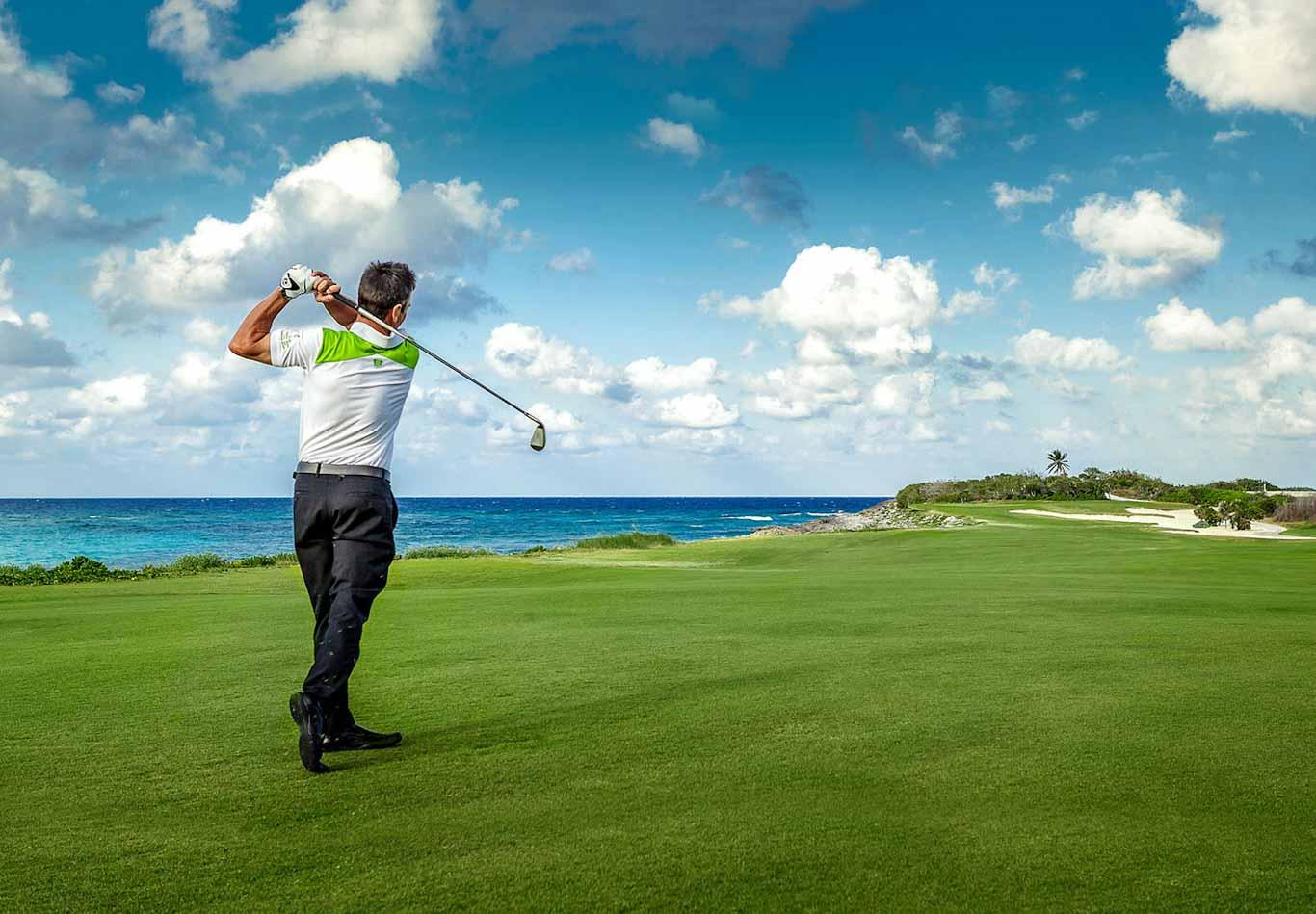 Caribbean Island Golfing